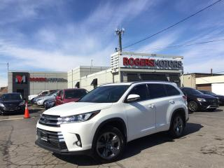 Used 2017 Toyota Highlander LTD AWD V6 - NAVI - 7 PASS - PANO ROOF for sale in Oakville, ON