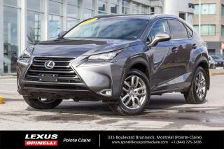 Used 2017 Lexus NX 200t **LUXURY AWD** *NAVIGATION*CAMERA DE RECUL*VOLANT CHAUFFANTS* for sale in Montréal, QC