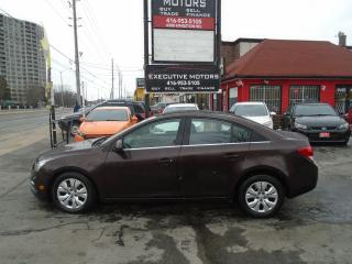 Used 2015 Chevrolet Cruze 1LT/ REV CAM/ REMOTE START/ NO ACCIDENT / CLEAN for sale in Scarborough, ON