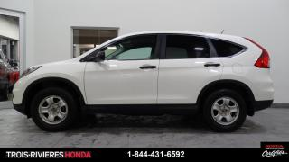 Used 2015 Honda CR-V LX + VITRES TEINTÉES + BLUETOOTH ! for sale in Trois-Rivières, QC