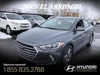 Used 2018 Hyundai Elantra GL + GARANTIE + CAMERA + CARPLAY + MAGS for sale in Drummondville, QC