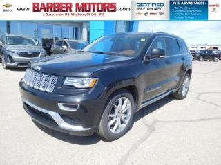 Used 2015 Jeep Grand Cherokee Summit for sale in Weyburn, SK