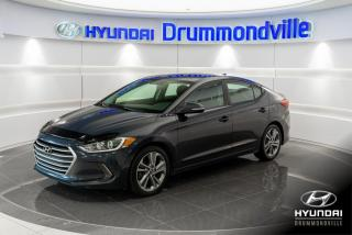 Used 2017 Hyundai Elantra GLS + GARANTIE + TOIT + MAGS + CAMERA + for sale in Drummondville, QC