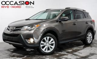 Used 2015 Toyota RAV4 Limited AWD NAVI+CUIR+TOIT.OUVRANT for sale in Boisbriand, QC