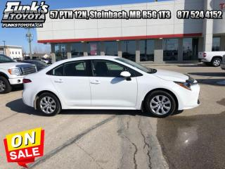 Used 2020 Toyota Corolla LE  - Heated Seats for sale in Steinbach, MB