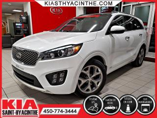 Used 2017 Kia Sorento SX V6 AWD ** NAVI / CUIR / TOIT for sale in St-Hyacinthe, QC