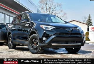 Used 2016 Toyota RAV4 LIMITED GPS, CUIR, TOIT, RARE! for sale in Pointe-Claire, QC