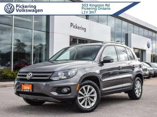 Used 2014 Volkswagen Tiguan hHIGHLINE AWD 4MOTION!! LEATHER + PANO ROOF for sale in Pickering, ON
