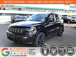 New 2020 Jeep Grand Cherokee Altitude for sale in Richmond, BC