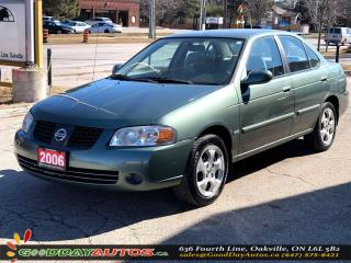 Used 2006 Nissan Sentra 1.8 Special Edition|LOW KM|NO ACCIDENT|CERTIFIED for sale in Oakville, ON