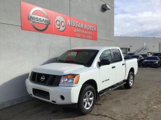 Used 2014 Nissan Titan SV 4x4 Crew Cab SWB 139.8 in. WB for sale in Edmonton, AB