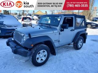 Used 2018 Jeep Wrangler JK SPORT 4WD for sale in Edmonton, AB