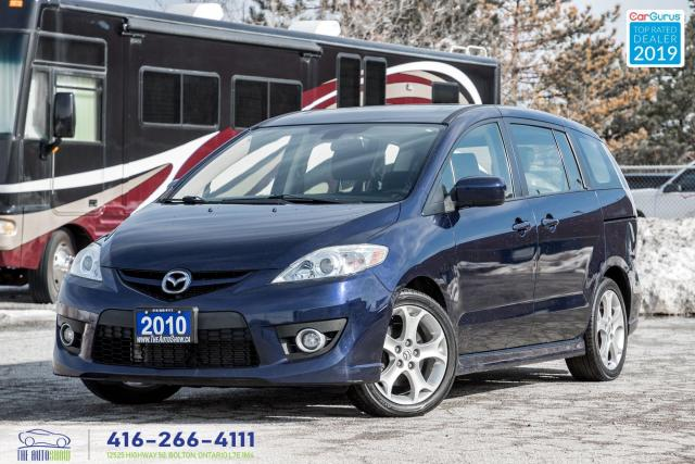 2010 Mazda MAZDA5 GT|One Owner|Clean Carfax|Sunroof|Alloys|Keyless