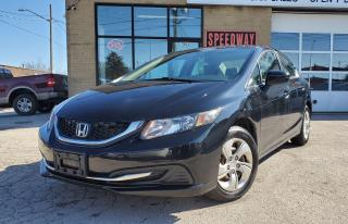 Used 2014 Honda Civic LX - Safety Certified, Automatic for sale in Oakville, ON