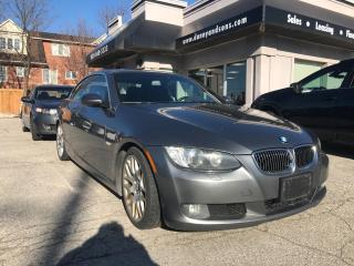 Used 2008 BMW 3 Series 328i Convertible for sale in Mississauga, ON