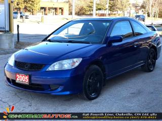 Used 2005 Honda Civic Si-G|NO ACCIDENT|SUNROOF|CRUISE CONTROL for sale in Oakville, ON