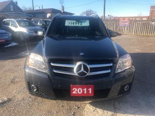 Used 2011 Mercedes-Benz GLK-Class GLK 350 for sale in Hamilton, ON