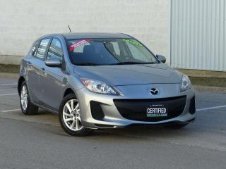 Used 2013 Mazda MAZDA3 BLUETOOTH,NO-ACCIDENT,LOW KMS,ALLOY,SPOILER,CRUISE for sale in Mississauga, ON
