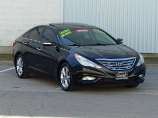 Used 2012 Hyundai Sonata LEATHER,LIMITED,PANORAMIC-ROOF,NO-ACCIDENT,1-OWNER for sale in Mississauga, ON
