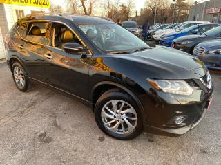 Used 2015 Nissan Rogue SL/ AWD/ NAVI/ CAM/ LEATHER/ SUNROOF/ ALLOYS + + for sale in Scarborough, ON