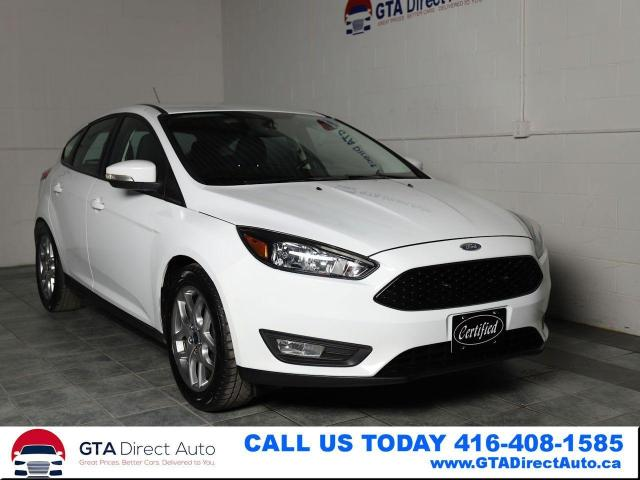 2015 Ford Focus SE Camera 5-Speed Heated Bluetooth Certified
