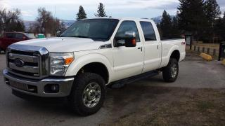 Used 2012 Ford F-350 SD Lariat Crew Cab 4WD for sale in West Kelowna, BC