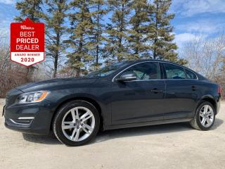 Used 2016 Volvo S60 T5 PREMIER *HEATED LEATHER - SUNROOF - ONE OWNER* for sale in Winnipeg, MB