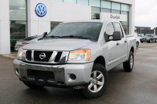Used 2013 Nissan Titan PRO-4X Crew CAB 4WD SWB V8 4x4, SXM, Keyless Entry for sale in Guelph, ON