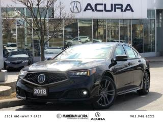 Used 2018 Acura TLX 3.5L SH-AWD w/Elite Pkg A-Spec for sale in Markham, ON