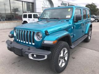 New 2020 Jeep Wrangler Unlimited Sahara 4x4 V6 for sale in Hamilton, ON