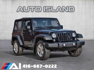 Used 2016 Jeep Wrangler 4WD 2dr for sale in North York, ON
