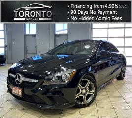 Used 2016 Mercedes-Benz CLA-Class CLA250 4MATIC NAVI Back-Up Leather Heated Seats One Owner No Accident for sale in North York, ON