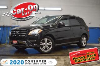 Used 2015 Mercedes-Benz ML-Class ML 350 BlueTEC 4MATIC Premium DIESEL LEATHER NAV P for sale in Ottawa, ON