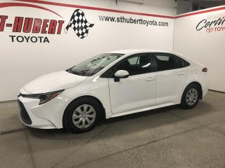 Used 2020 Toyota Corolla CVT, CAMÉRA DE RECUL for sale in St-Hubert, QC