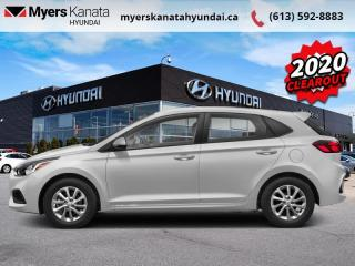New 2020 Hyundai Accent Essential Manual for sale in Kanata, ON