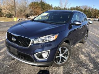Used 2016 Kia Sorento EX AWD for sale in Cayuga, ON