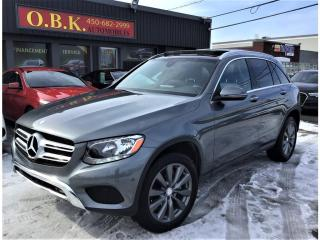 Used 2016 Mercedes-Benz GL-Class 4MATIC-GLC 300-NAVIGATION-TOIT OUVT PANO-CAM RECUL for sale in Laval, QC