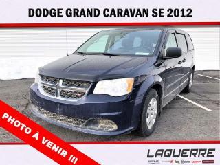 Used 2012 Dodge Grand Caravan SE for sale in Victoriaville, QC