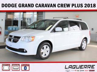 Used 2018 Dodge Grand Caravan Crew Plus for sale in Victoriaville, QC