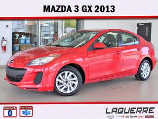 Used 2013 Mazda MAZDA3 GX for sale in Victoriaville, QC