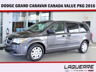 Used 2016 Dodge Grand Caravan CANADA VALUE PACKAGE for sale in Victoriaville, QC