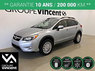 Used 2015 Subaru XV Crosstrek TOURING AWD ** GARANTIE 10 ANS ** Bas kilométrage! for sale in Shawinigan, QC