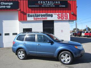 Used 2009 Subaru Forester X Limited $7,495+HST+LIC FEE / CERTIFIED / SYMMETRICAL AWD/ PANORAMIC ROOF for sale in North York, ON