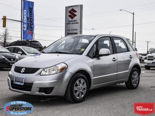 Used 2010 Suzuki SX4 ~Power Windows + Locks ~Air Conditioning for sale in Barrie, ON