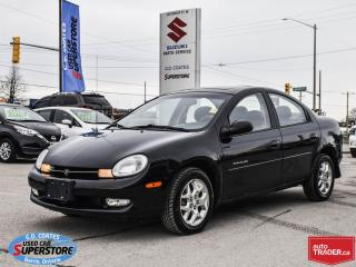 Used 2000 Chrysler Neon ~ONLY 101,000 KM! ~A/C ~Fog Lamps ~Alloy Wheels for sale in Barrie, ON