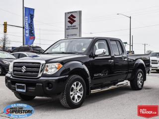 Used 2010 Suzuki EQUATOR JX Crew Cab 4x4 ~4.0 V6 ~Trailer Tow ~Alloy Wheels for sale in Barrie, ON