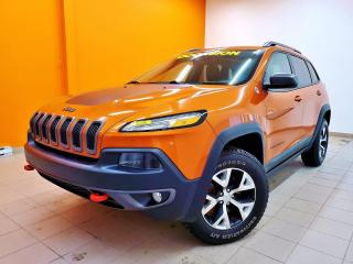 Used 2016 Jeep Cherokee TRAILHAWK V6 4X4 *TOIT PANO* SIEGES CHAUFF *PROMO for sale in Mirabel, QC