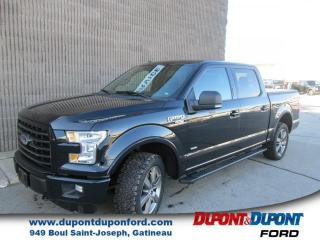 Used 2016 Ford F-150 Cab SuperCrew 4RM 145 po XLT SPORT FX4 for sale in Gatineau, QC