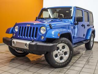 Used 2014 Jeep Wrangler SAHARA 4X4 V6 3.6L CLIMATISATION *NAVIGATION* for sale in Mirabel, QC