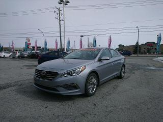Used 2015 Hyundai Sonata Limited, cuir, toit pano, wow!!!! superbe auto!!! for sale in Gatineau, QC